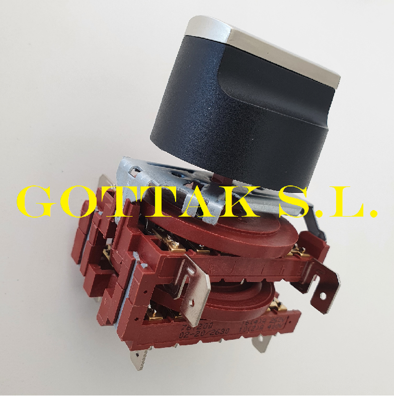 Ventilation and Centralized Heating Rotary Switch