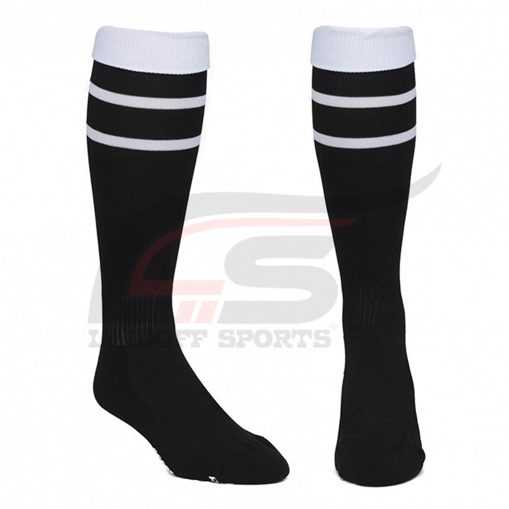 Wholesale OEM Custom Logo Crew Soft Sports Soccer Socks