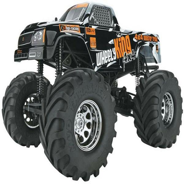HPI Racing 106173 Wheely King 2.4 GHz 4x4 RTR Vehicle, 1-12 Scale