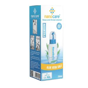 Nanocare Nasal Wash Bottle Sinus Rinse Kit Nasal Irrigator Nose Cleaner For Children Adult Health Care 250ml High Quality