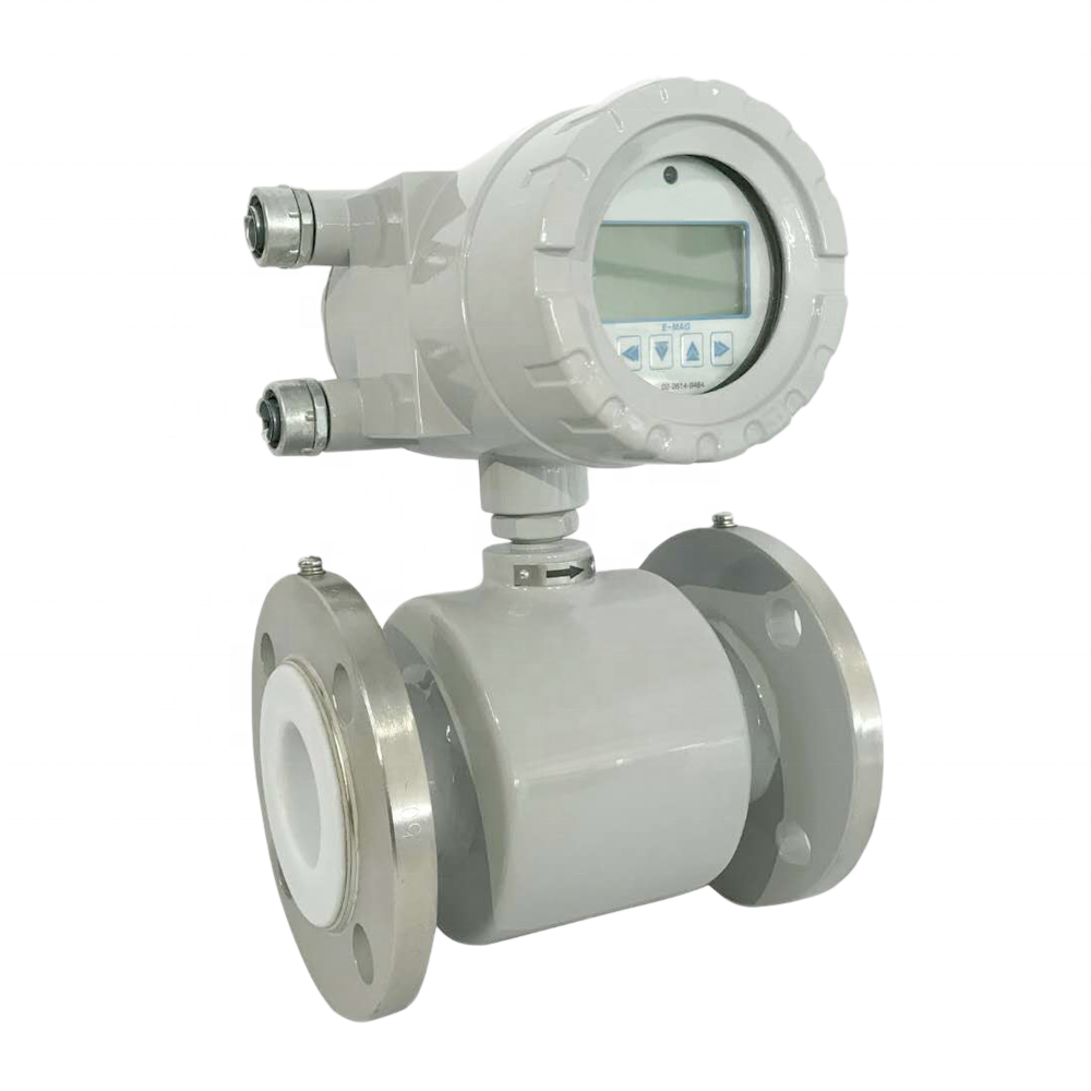 E-MAG Model Integrated and Remote type Water Electromagnetic Flow Meter