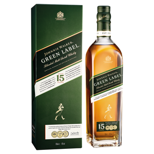 Johnnie Walker Green Label 15 Year Whisky 70cl