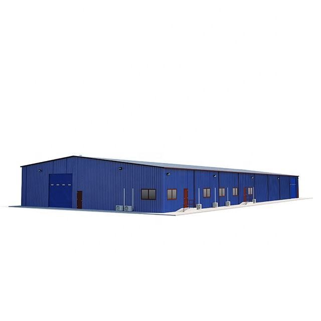 prefabricated Steel Structure Fabrication for Warehouse/Workshop Building