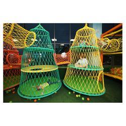 Hive Amusement Park Climbing Walls Children Playground Indoor Sports Amusement Park Playground Colorful Knitted Network