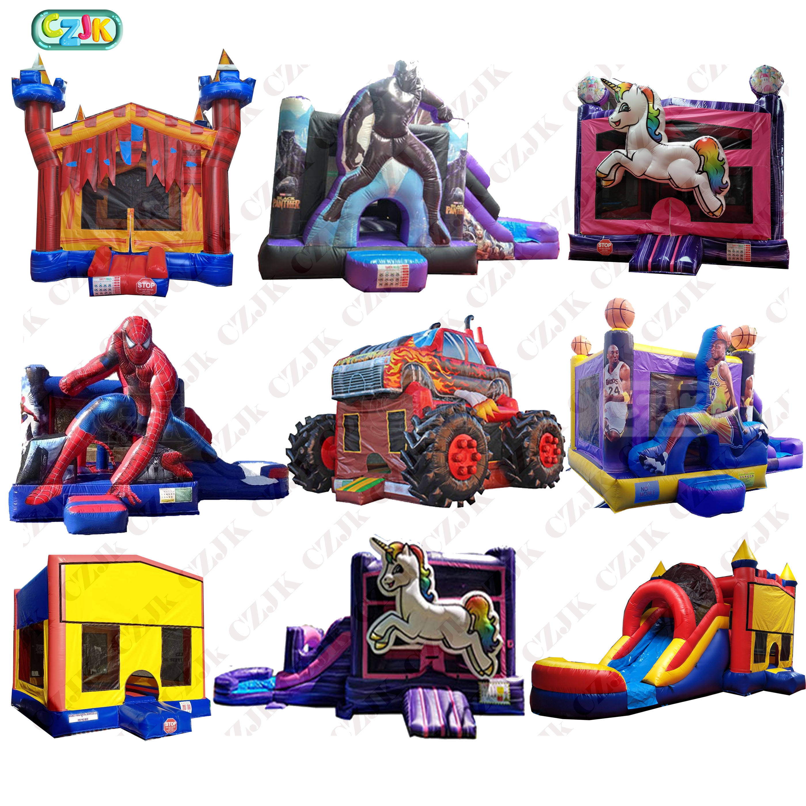 moonwalk jumper bouncy jump castle inflatable bouncer commercial bounce house for kid party combo with water slide big pvc moon