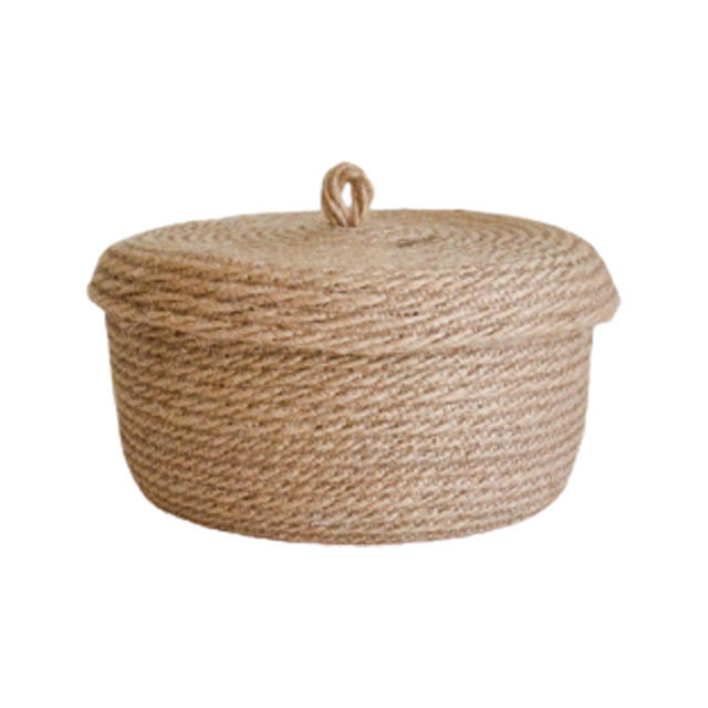 Handmade Jute Rope storage basket made in bangladesh