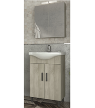 New Modern Economic Design Bathroom Vanity LUNA 55 Beige Bathroom Cabinets Furniture