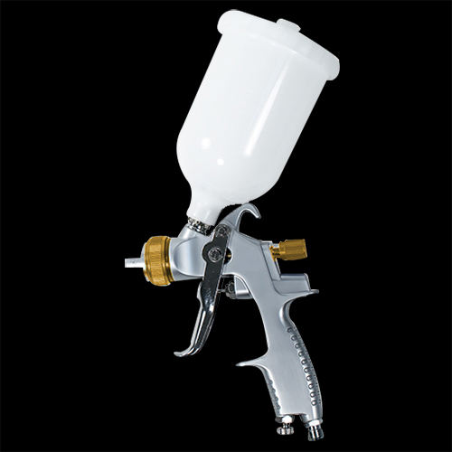Car Paint Spray Gun 1.3mm HVLP Gravity Feed 30cm Pattern Width LEMATEC Taiwan 1/4 inch Air Tool 600 ml Cup Nozzle