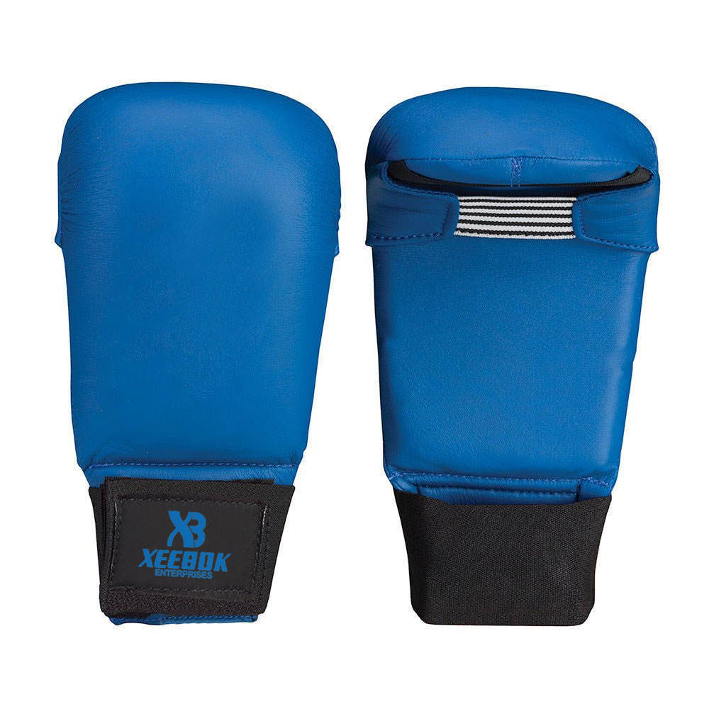 Martial Arts Training Mitts Approved Karate Mitts In Blue Color