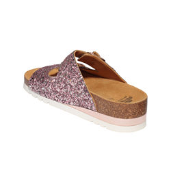 high quality female sandal glitter