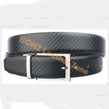 Factory Price Fashion Men Covered Buckle Leather Belt