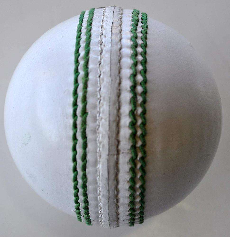 Custom Detailed White Cricket Match Ball