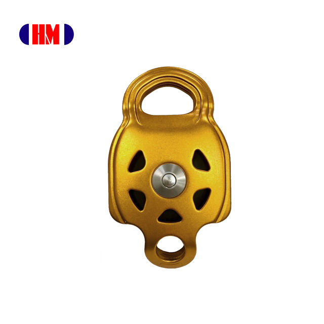 All Purpose Transport Multi function Climbing Aluminum single wheel ball bearing Rope pulley