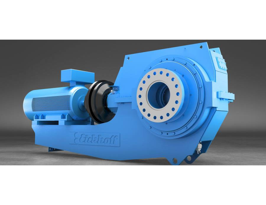 bevel-helical-planetary gear reducer/ high torque >10kNm / industrial gearbox / customized and compact design / reliable