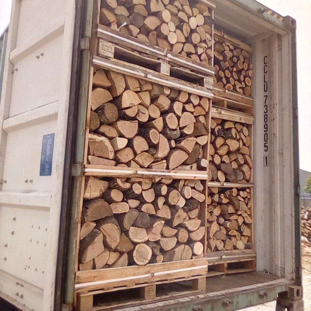 KD firewood on pallets FSC certified from Bulgaria