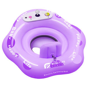 Infant swimming float best water rides water toys for kids inflatable swimming pool float baby ride toy electric water toys