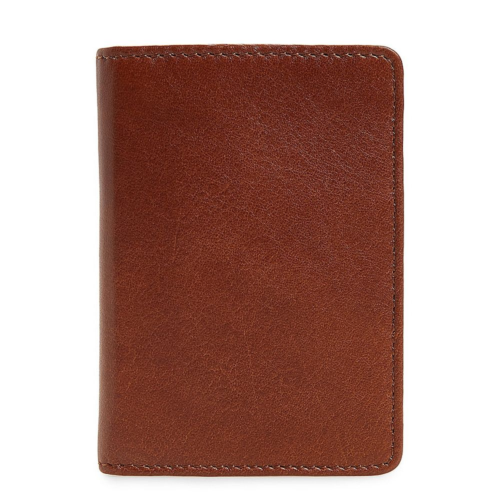 Long brown color clutch purse design men leather foldable fashion wallet