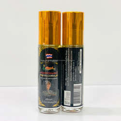 Best Seller Srithanon Herbal Massaging Oil Balm Headache Relief 8 ml 2 in 1 Product of Thailand