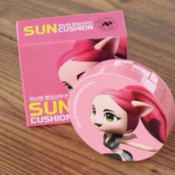 Running man tone-up sun cushion for kids made in korea