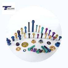 GR5 Ti6Al4V Titanium Bolts and Nuts For Racing Motorcycles/Bicycle