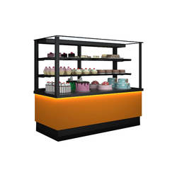 HAWAII CE Cake Display Fridge Pastry Display Cabinets / Cakes Refrigerated Pasty Cabinets Cake Showcase Refrigerator