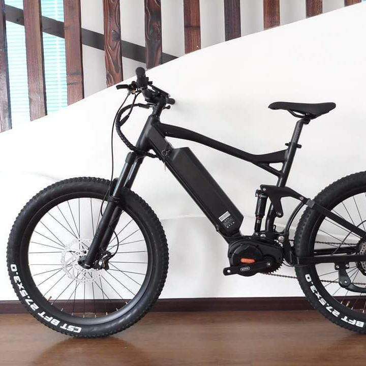 48V 1000W Bafang G510 Ultra ebike Full suspension electric bike