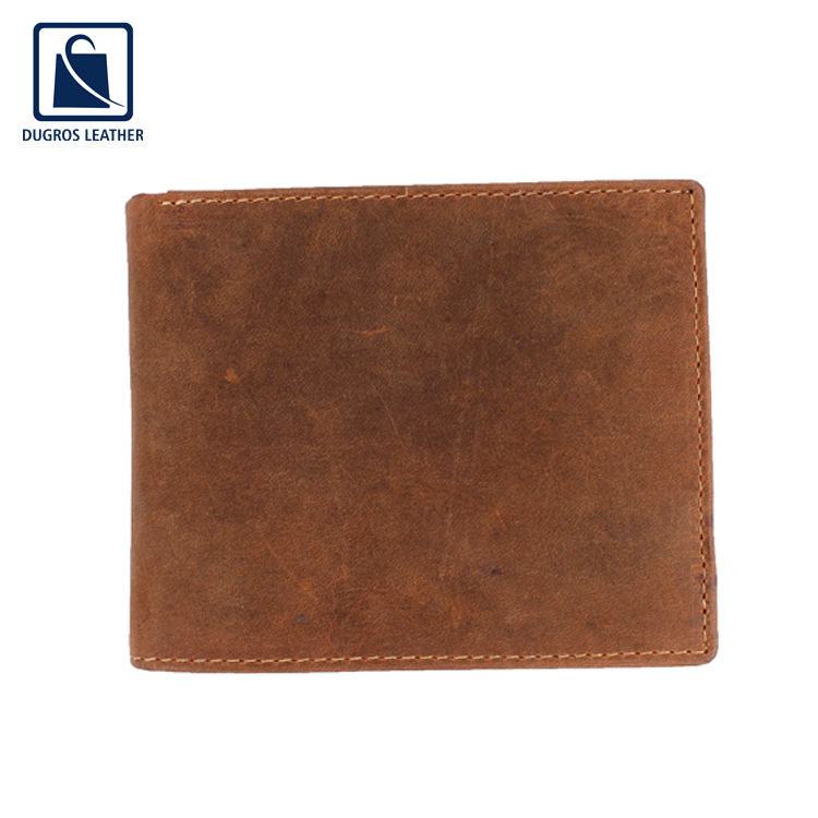 Hot Selling of Men's Use Best Quality Custom Genuine Leather Wallet from Worldwide Exporter