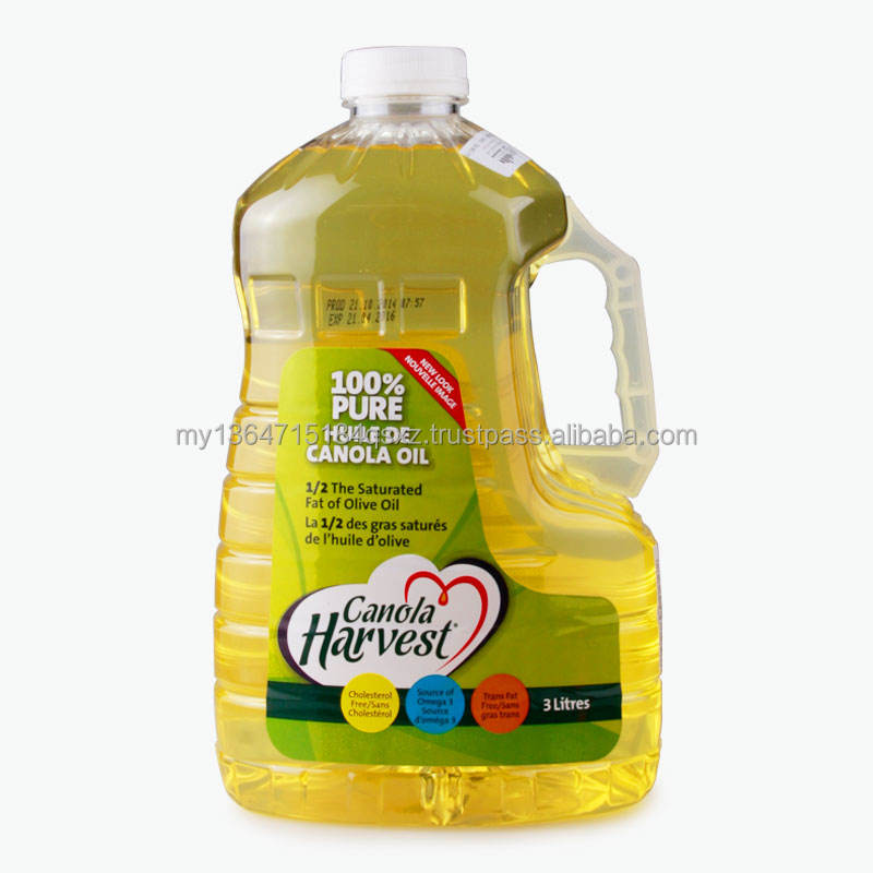 100% PURE DOUBLE REFINED DEODORISED CANOLA OIL