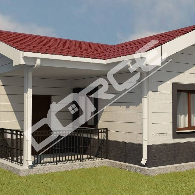 One Storey Prefabricated House Villa Prefab Home
