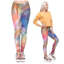Women Fitness Yoga Pants Sport Gym Leggings Plus Size Water Printing Trousers Femme Anti Cellulite Printed Leggins