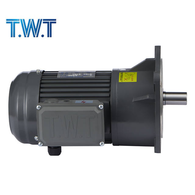 high torque low rpm vertical or horizontal 1 hp 3 phase AC gear motor
