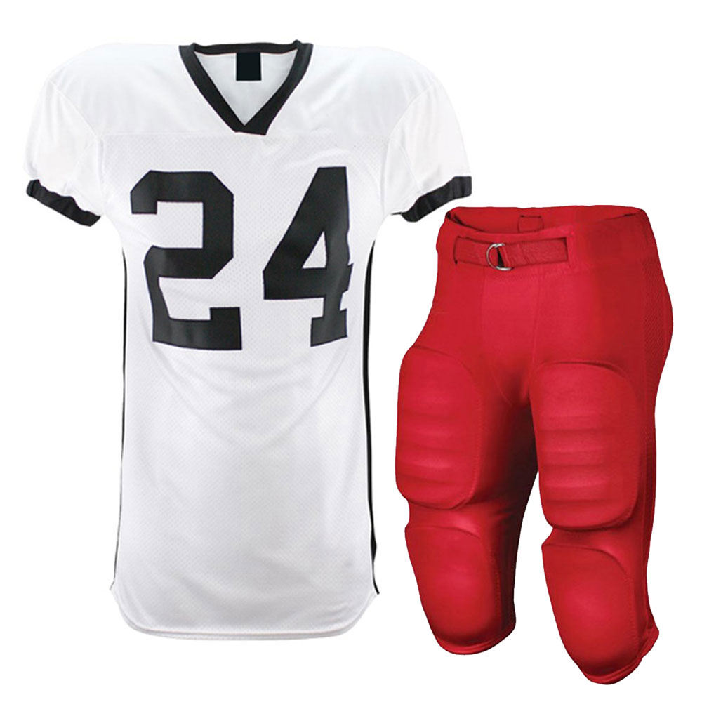 Low MOQ Wholesale Youth Tackle Twill American Football Jersey / customized Sublimated American Football Uniforms
