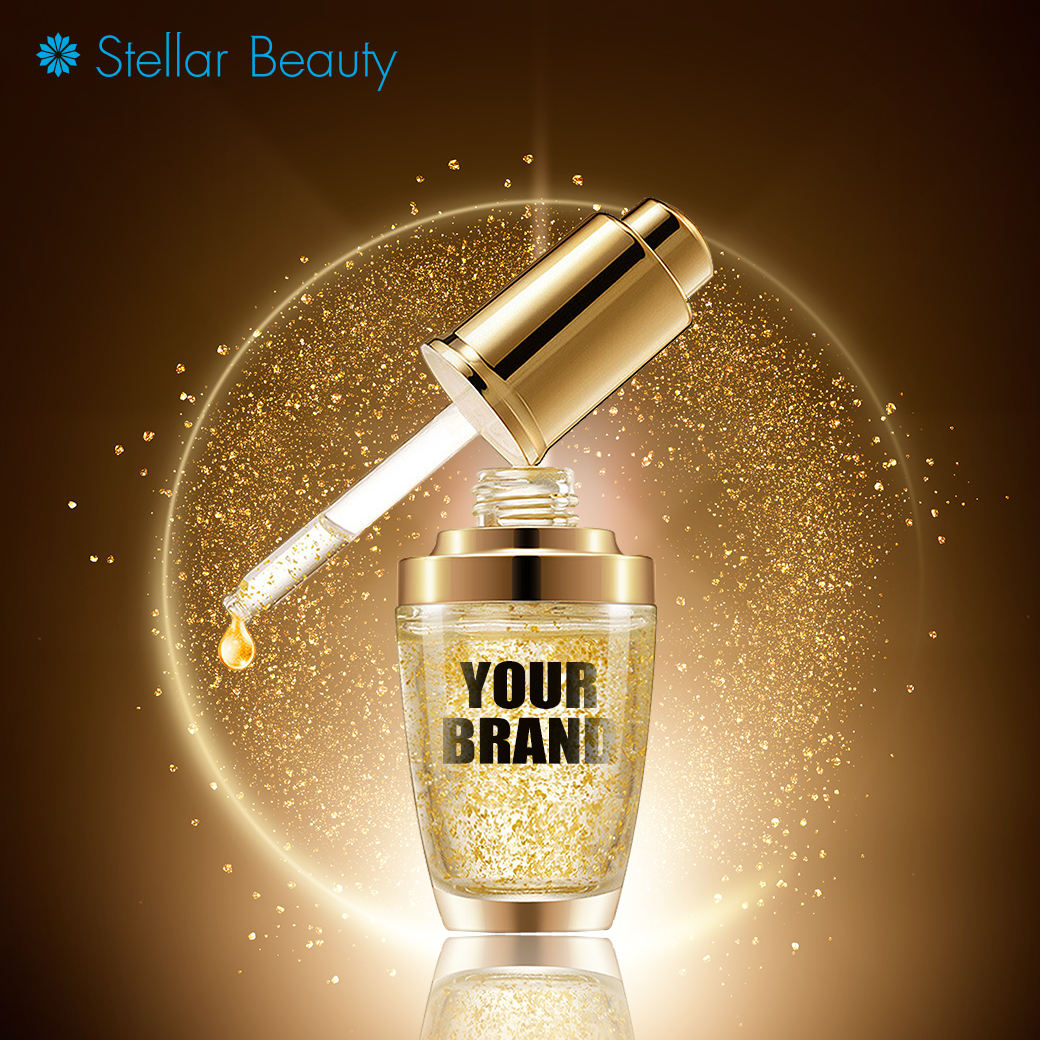 24K Gold Skincare Serum Whitening Anti-Aging Powerful Face Serum