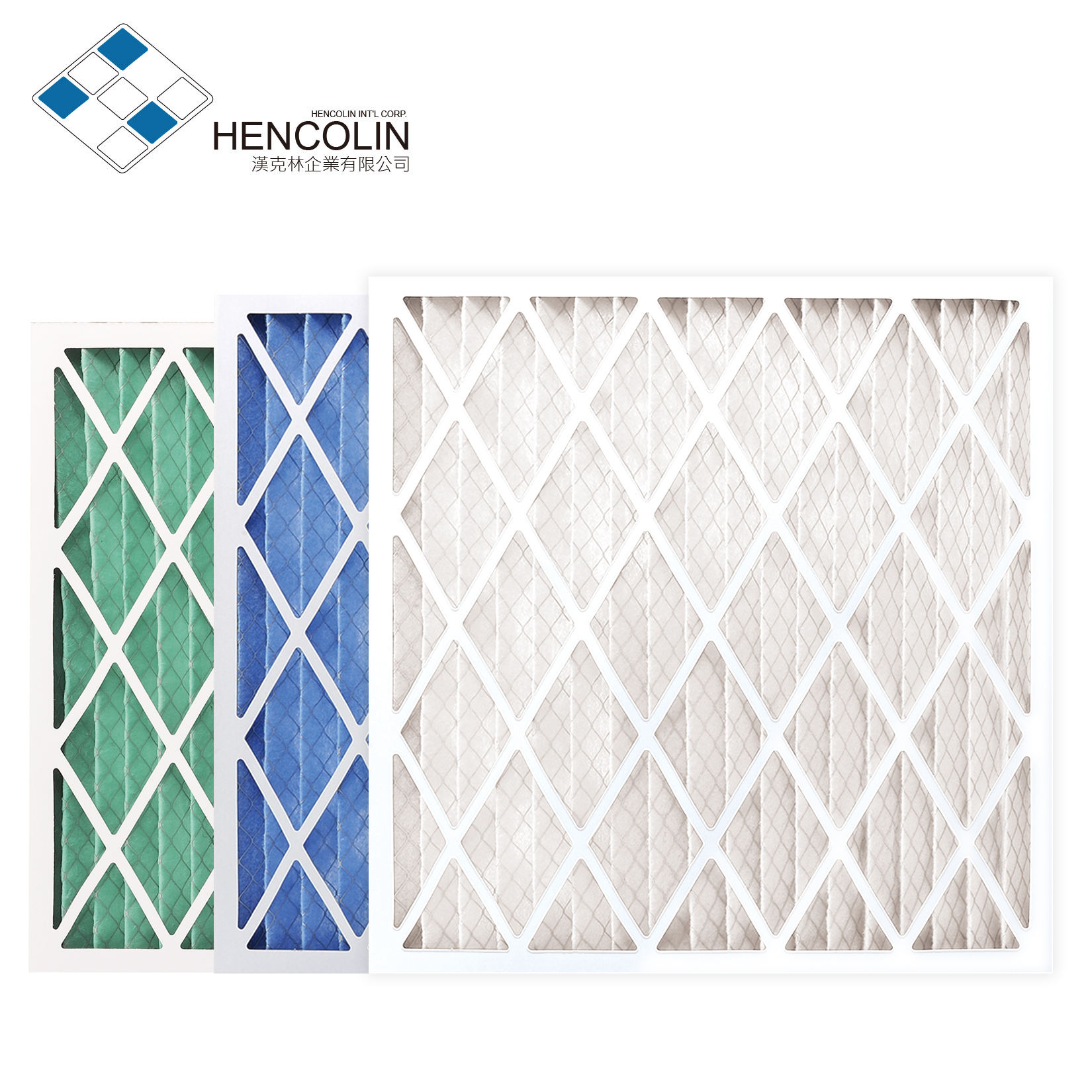 Panel Filter Rigid high wet-strength beverage board Air Filter for HVAC