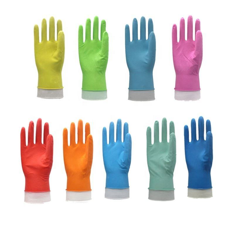 China Suppliers Elastic Rubber latex household Glove