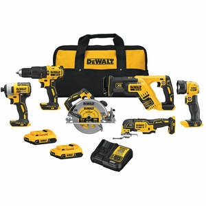 WHOLESALES ! FOR THE NEW DeWalts_20-v Max 15-Tool Lithium Ion Cordless Combos Kits