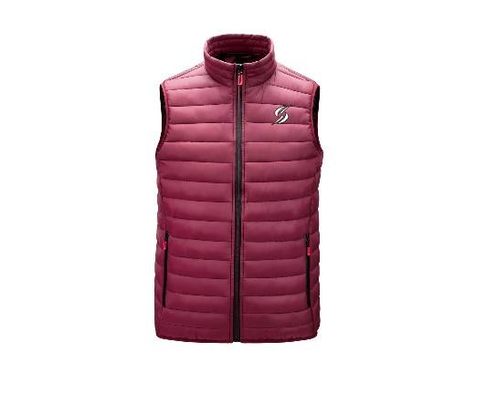 2020 padded jacket Hot sales Plain Zipper Sleeveless Stand Collar Quilted Puffer Men's Vest & woman warm jacket puffy jacket