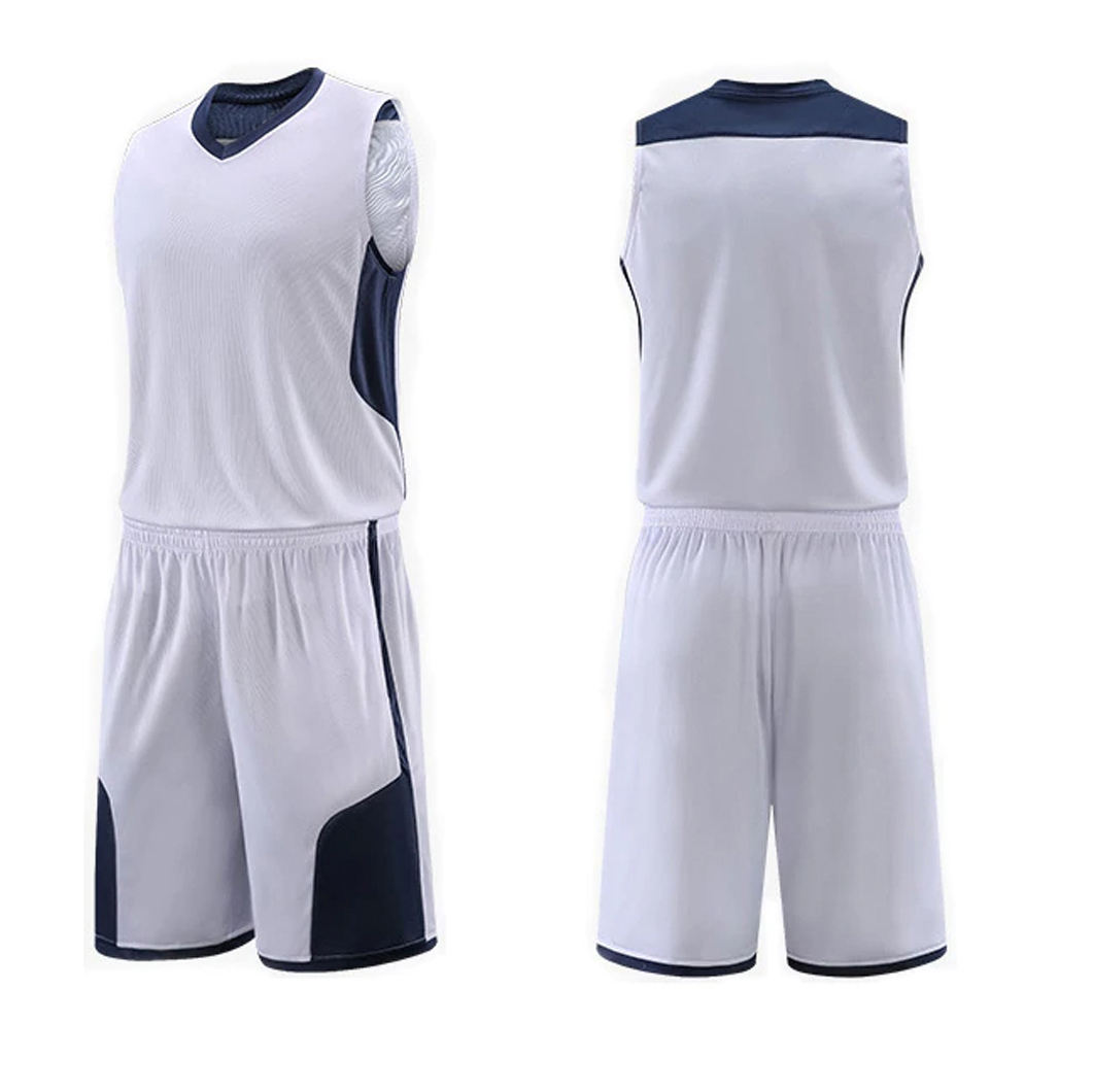 Blank Reversible Basketball Jersey Uniform Großhandel Team wear Basketball Uniform