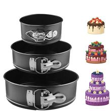 Non-Stick Quick-Release Round Springform Cake Tin with Loose Base