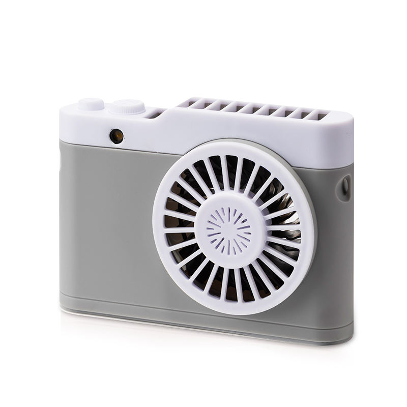 2020 unique design mini 3d portable handheld refrigeration room air cooling fan usb bladeless for Home and Travel