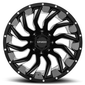 KIPARDO new design 20x12 deep lip offroad car aluminum alloy rim JWL/VIA/TUV/TS16949
