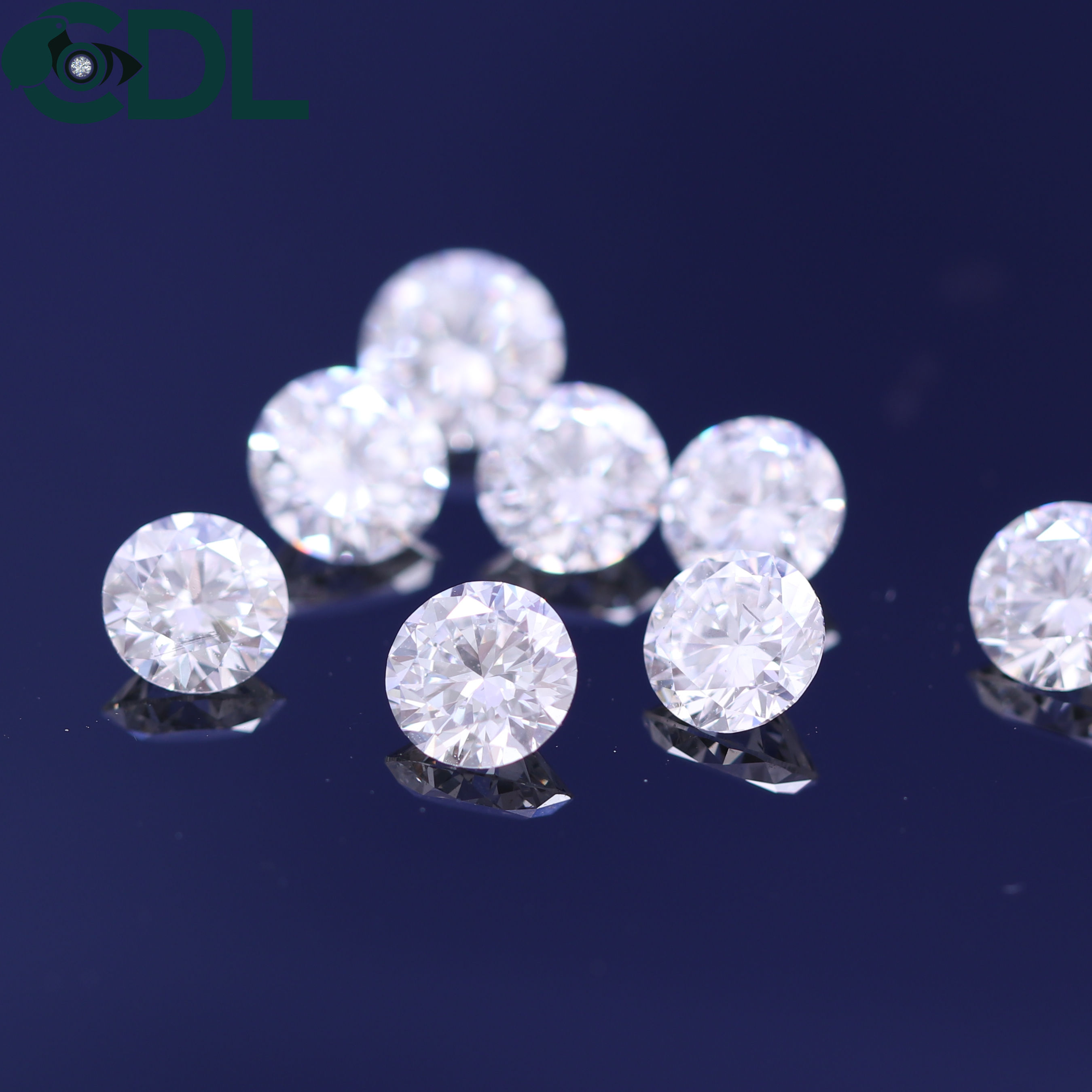Natural Loose Polished Round Brilliant Cut Diamond 3.30 mm, F-H, VS1-VS2, EX-VG Cut/ real damonds