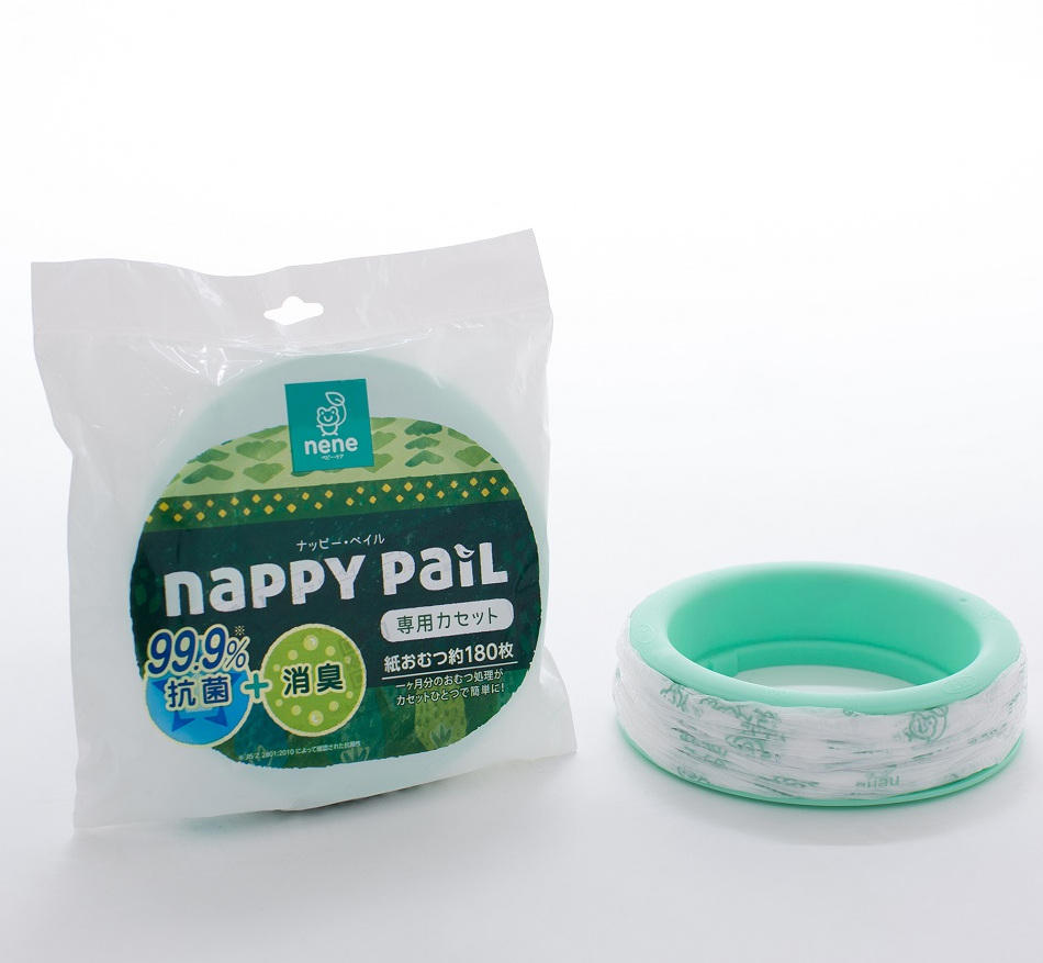 NENE Diaper Nappy Pail Refill Compatible with Aprica and Combi Nappy Pail for Baby