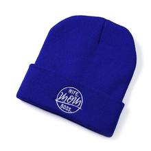 Multicolor fashion beanies hats unisex winter with custom embroidery pattern  vietnam