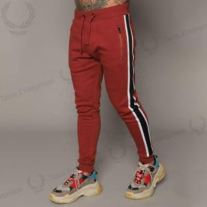 High quality cotton custom design trousers men jogger sweat pants active joggers and sweatpants/Men Track pants