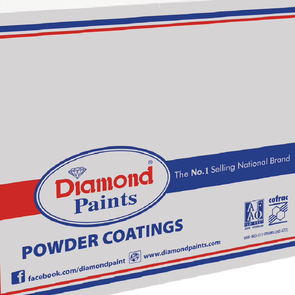 Diamond Epoxy Polyester- Black powder coating paint exterior paint industrial coating