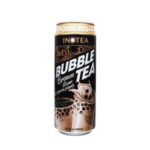 INOTEA 490ml brown sugar bubble milk tea canned drink