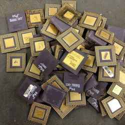 Intel Pentium Pro Ceramic CPU Processor Scrap Factory supply