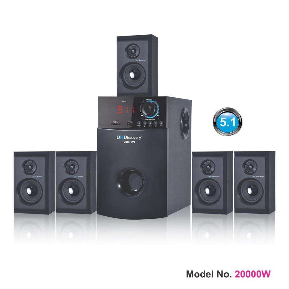 Channel 5.1 dengan Bluetooth Home Theater Speaker 20000 W