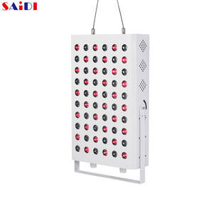 SAIDIPRO 3 Years Warranty Safety Low EMF Near Infrared Sauna use led light red light therapy lamp 660nm 850nm